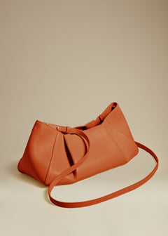 The Small Jeanne Bag in Cognac Leather