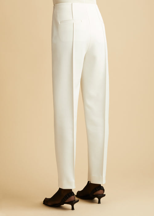 The Priyanka Pant in Ivory