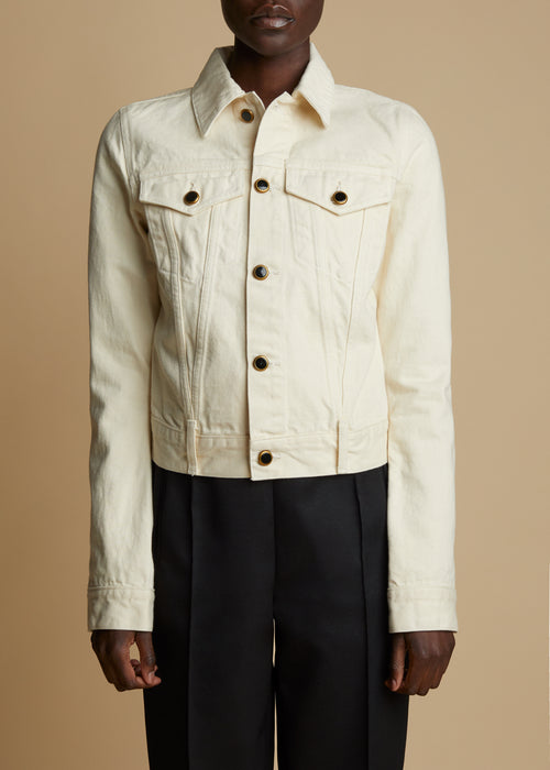 The Richard Jacket in Ivory