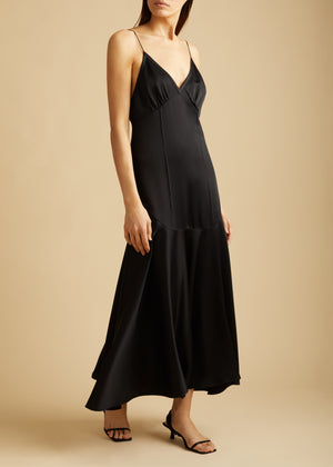 The Rini Dress in Black