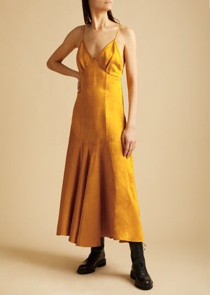 The Rini Dress in Marigold