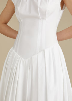 The Rita Dress in White