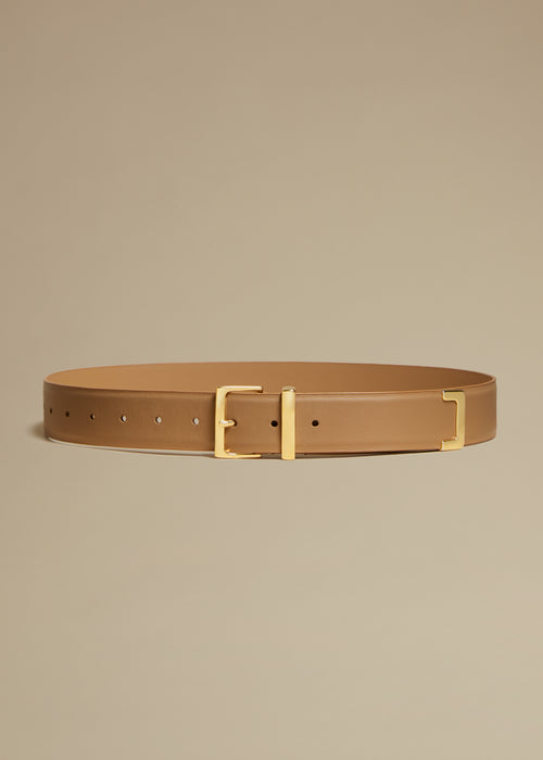 The Robbi Belt in Tan