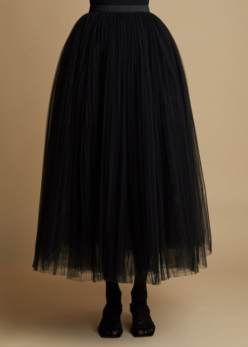 The Samantha Skirt in Black