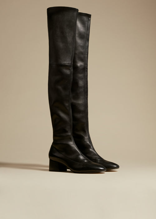 The Sedona Boot in Black Leather