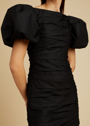 The Shelly Dress in Black