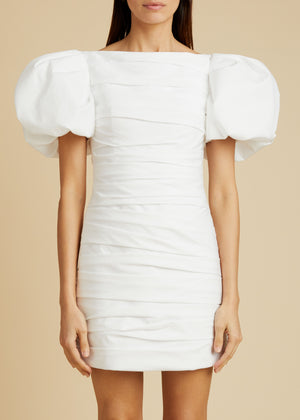 The Shelly Dress in White