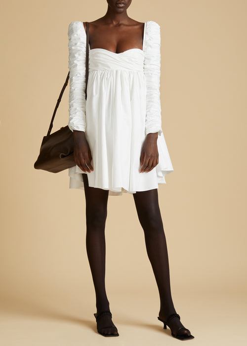 The Sueanne Dress in White