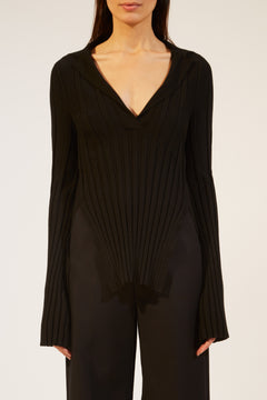 The Sienna Sweater in Black