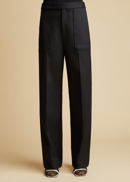 The Theresa Pant in Black