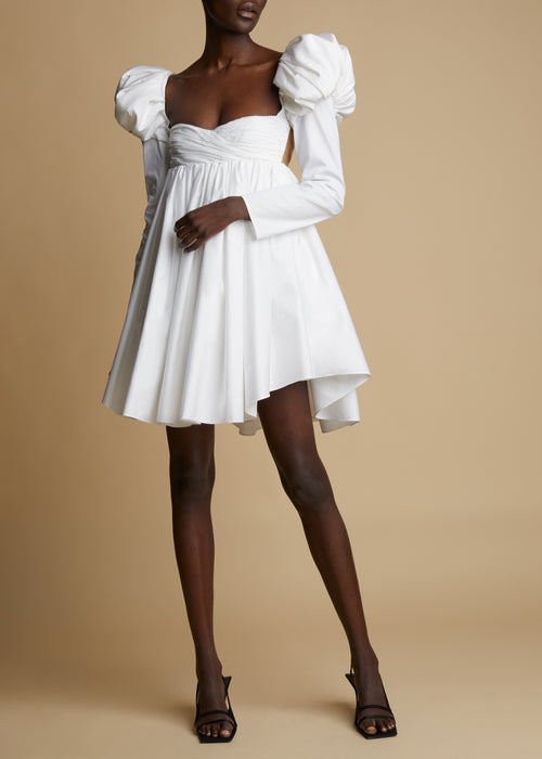 The Tracy Dress in White