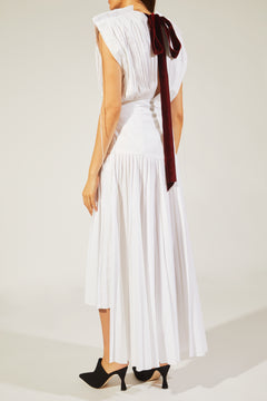 The Theodora Dress in White