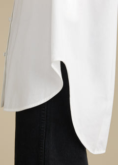 The Valentina Top in White