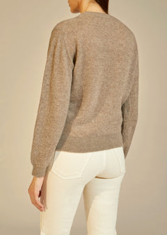 The Viola Sweater in Barley