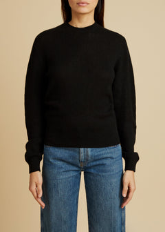 The Viola Sweater in Black