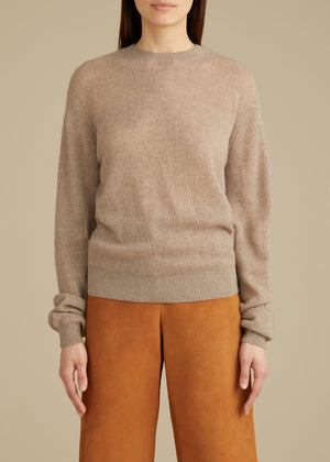 The Viola Sweater in Husk