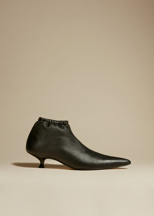 The Volos Boot in Black Leather