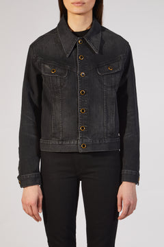 The Mia Jacket in Vintage Black