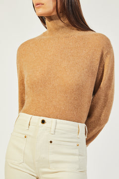 The Julie Sweater in Camel