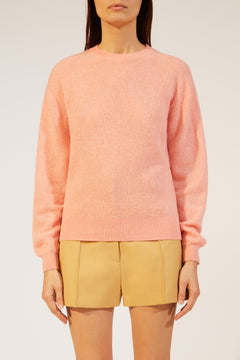 The Viola Sweater in Salmon