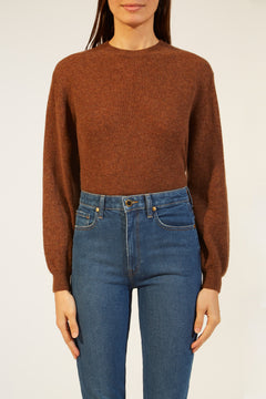 The Viola Sweater in Tobacco