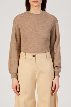 The Viola Sweater in Oatmeal