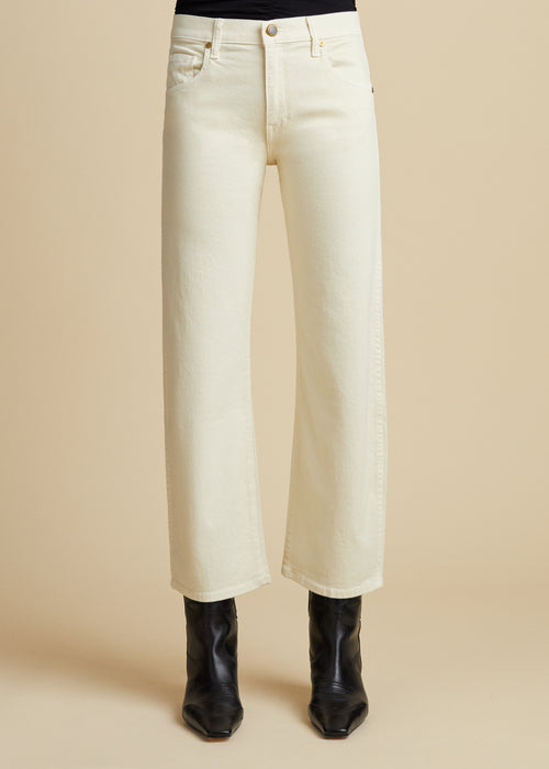 The Wendell Jean in Ivory