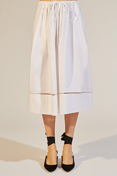 The Camilla Skirt in White