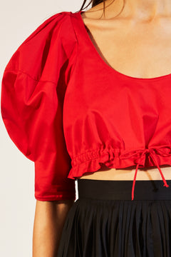 The Frankie Top in Currant