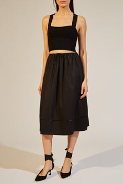 The Camilla Skirt in Black
