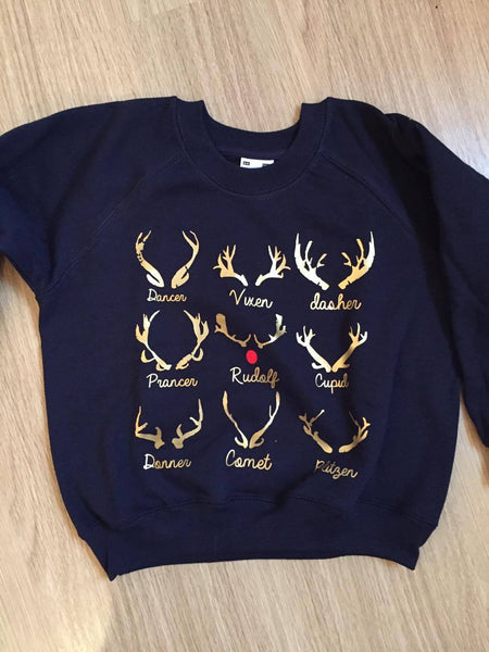 Christmas sweater reindeers