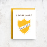 I Think You're Prefect - Harry Potter Card