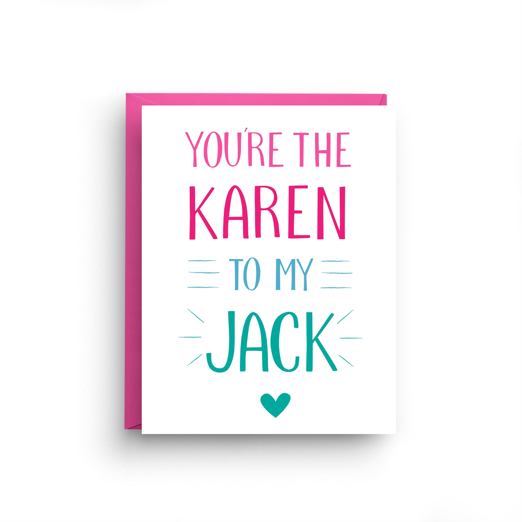 best friend card, friendship card, best friend gift, just because card, best friend birthday, lgbt card, will and grace, karen and jack, tv show, gay friendly card, lgbtq card, gay wedding card, ON SALE