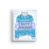 Ugly Hanukkah Sweater Holiday Card
