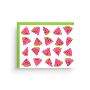 Watermelon Stationery Card