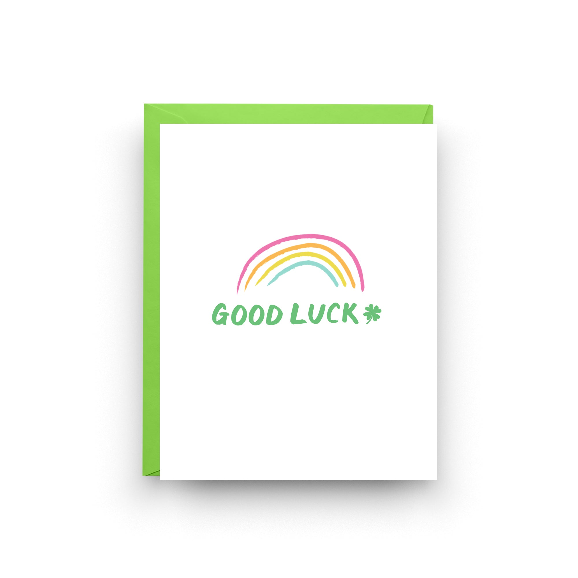 st patrick's day, good luck card, shamrock card, rainbow card, lucky card, st paddy's day, irish card, irish gift, four leaf clover, card for friend, on sale, mix and match, free shipping
