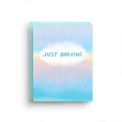 Just Breathe - Meditation Card