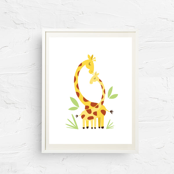 8x10, 11x14, art print, physical print, wall decor, free shipping, sale, coupon code, safari animal, giraffe nursery, giraffe print, animal print, animal nursery decor