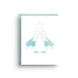 Mr. and Mr. Gay Wedding Card