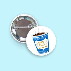 Brain Fuel - Coffee Button
