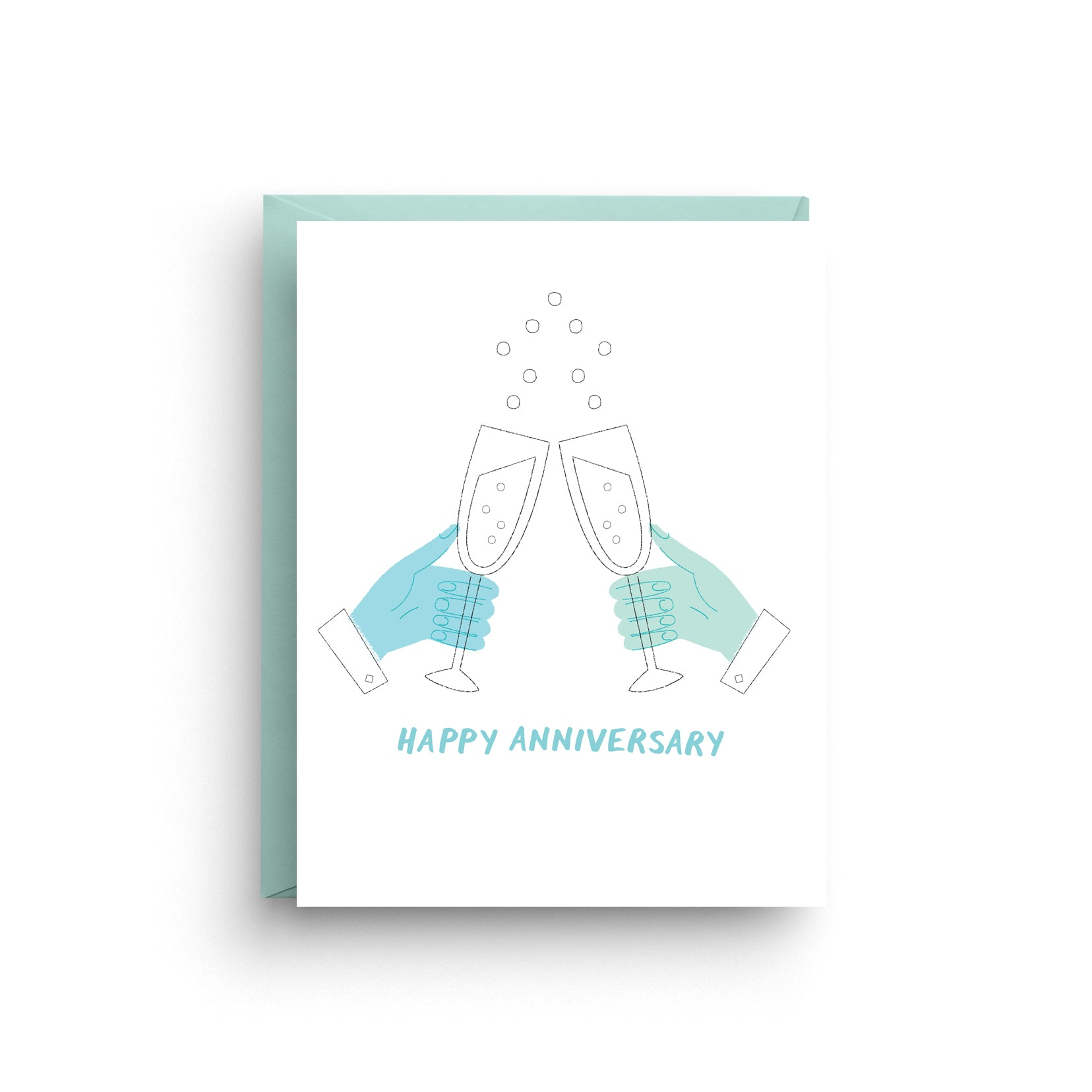 LGBTQ+ Anniversary Card (Male)