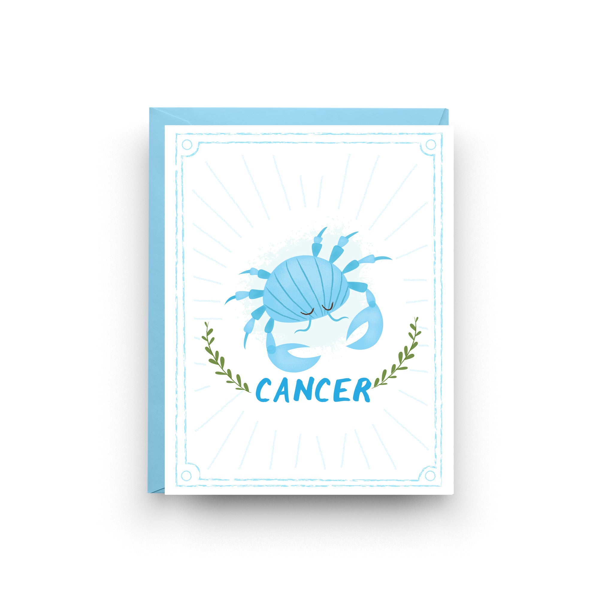 Cancer -  Zodiac Birthday Card