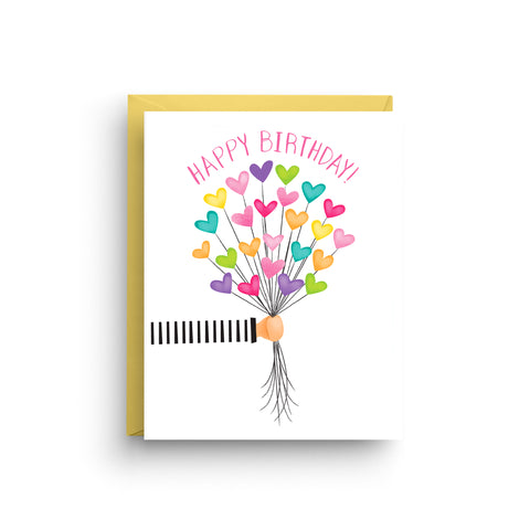 happy birthday card, birthday balloons, birthday card, balloons, happy birthday, card for kids, celebration card, birthday hearts card, friend birthday card, cute birthday card, heart balloons, children birthday, card for her