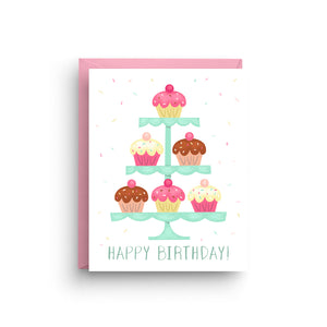 happy birthday card, cupcake card, birthday cupcake, birthday card, children birthday, birthday cupcakes, happy birthday, cupcakes, cupcake, card for children, birthday, card, girl birthday card