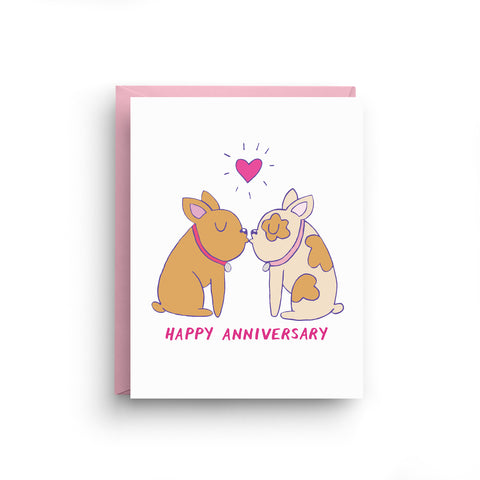 french bulldog card, dog card, i love you card, cute i love you card, happy anniversary, girlfriend card, french bulldog, card for wife, i love you, cute card, let's french, funny valentine, naughty card