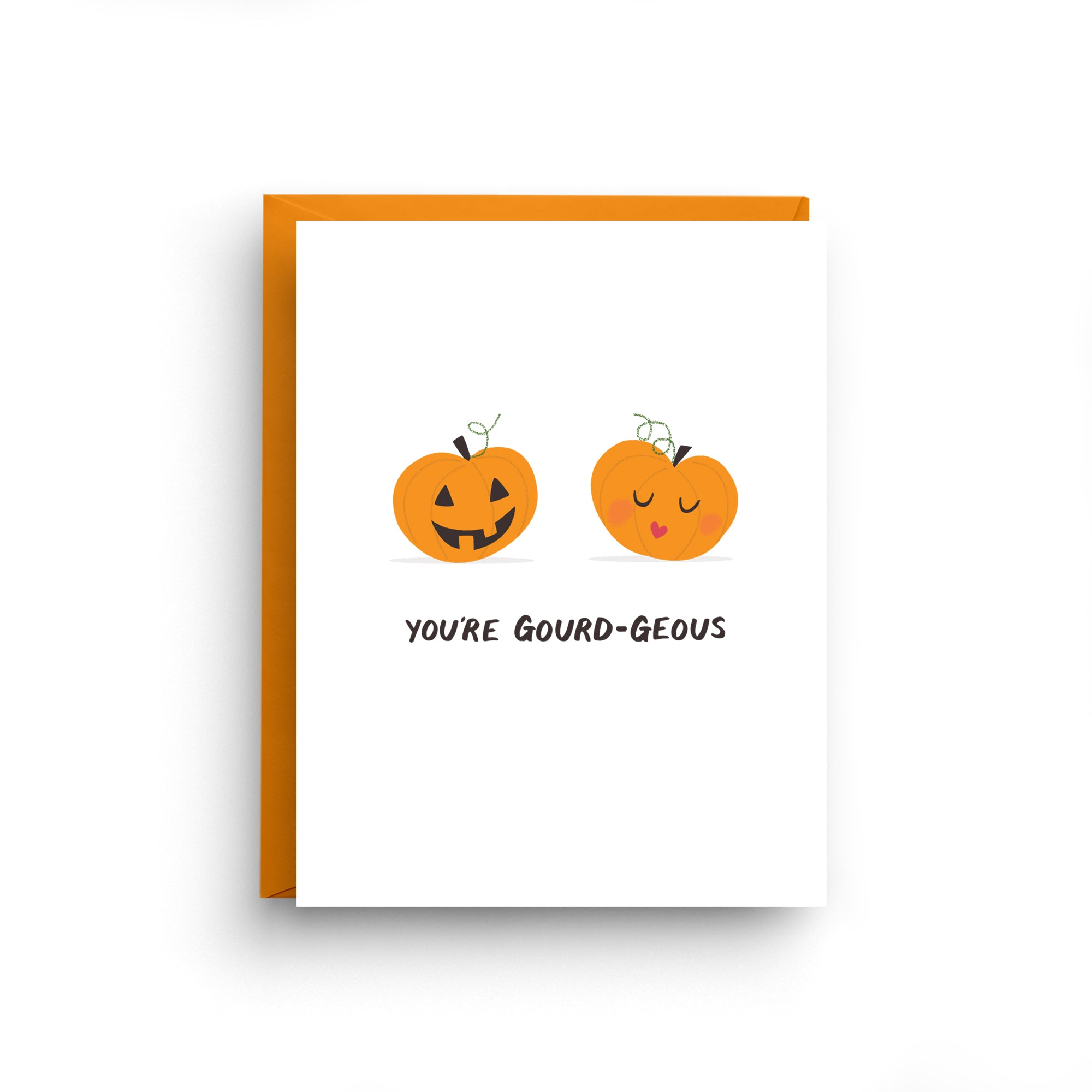 Your Gourd-geous - Funny Pumpkin Card