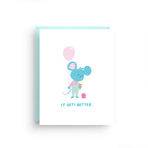 It Gets Better - Sympathy Card