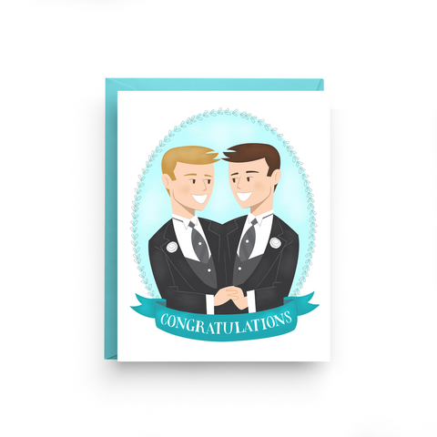 LGBTQ Same-Sex Wedding Card