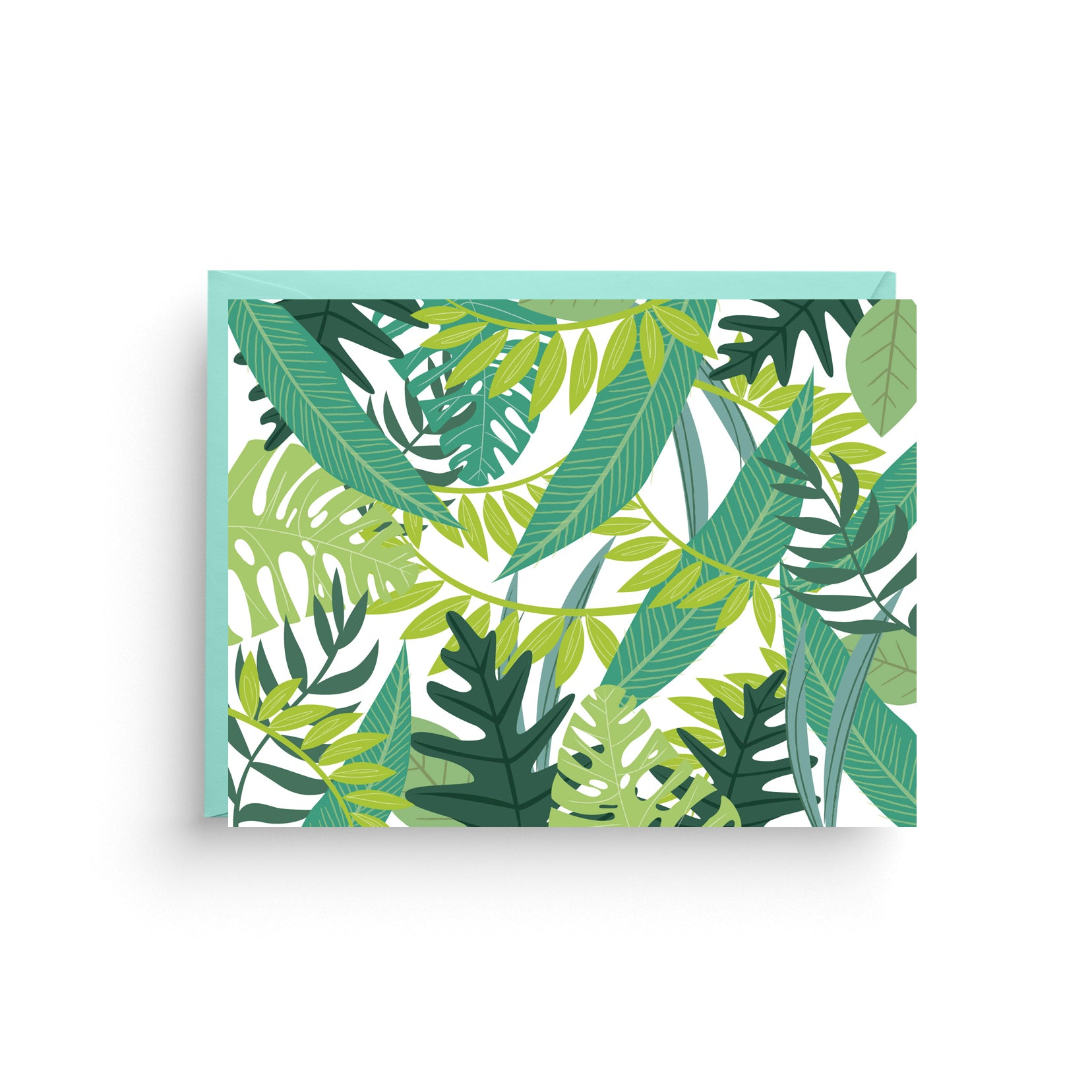 Tropical Safari Print Stationery Note Card