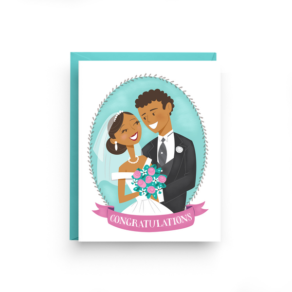 Wedding Couple Card